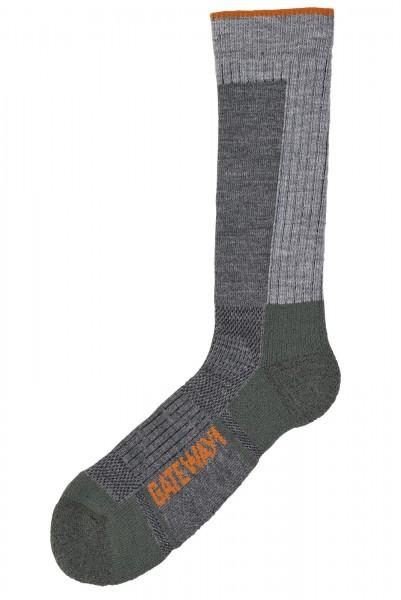 Boot calf sock,Olive/Grey